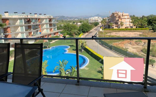 Penthouse With Sea Views in Oliva