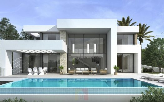 Modern Villa With Open Views in Moraira