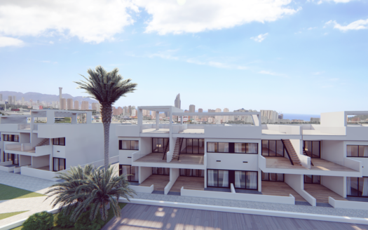 New Bungalows With Sea Views in Finestrat
