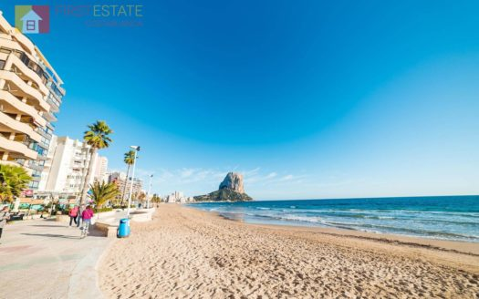 First Sea Line Studio Apartment in Calpe