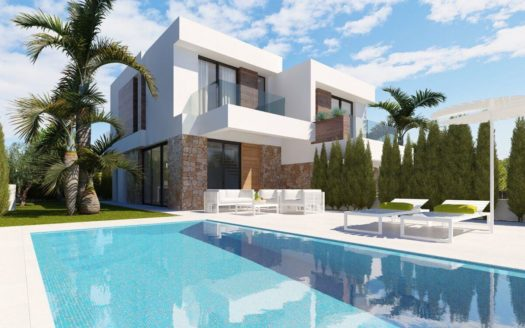 New Modern Townhouse in Benidorm