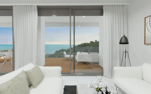 New Apartments by the Sea in Calpe