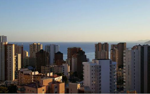 Studio Apartment With Sea Views in Benidorm