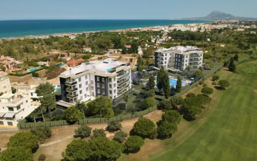 New Apartments With Sea Views in Oliva