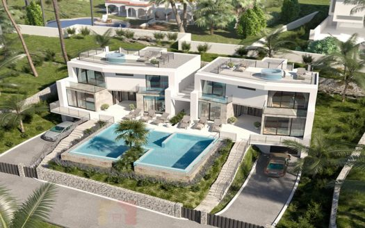 New Build Villa in Sol Park, Moraira