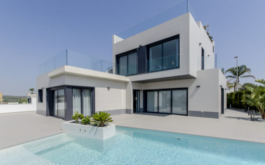 Modern Villa With Private Pool in Punta Prima