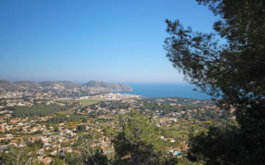 Building Plot in Benimeit, Moraira