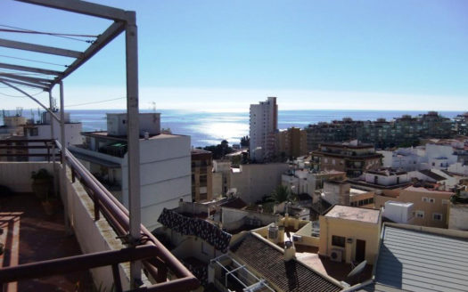 Penthouse With Sea Views in Calpe
