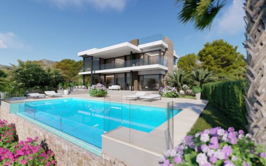 Luxury Villa With Sea Views in Calpe