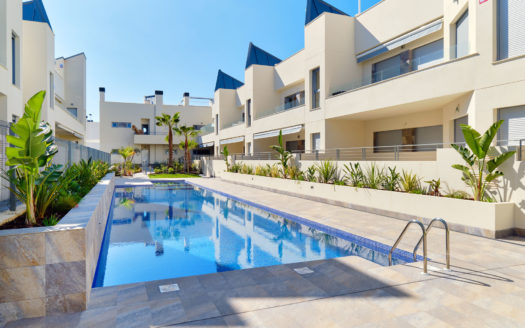 Duplex and Bungalows by the Sea in Eco-Residential in Torrevieja