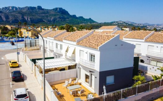 New bungalow in El Vergel, just 800 meters from the sea