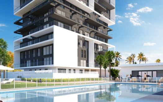 New Construction Apartments in Calpe