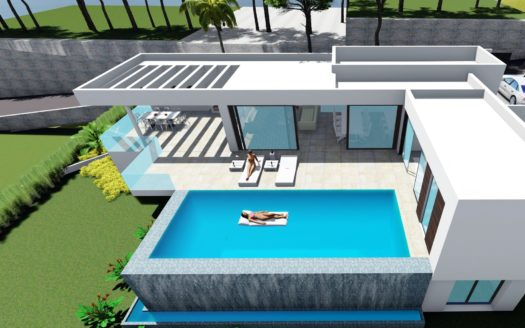 Villa with Exclusive Design in Calpe