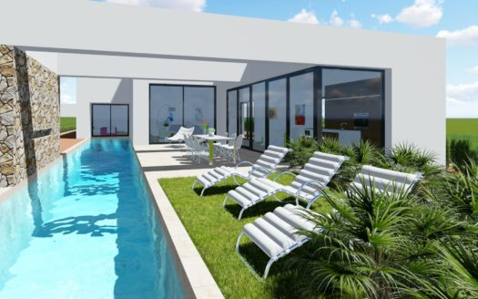 Villa with Private Pool in Benijofar