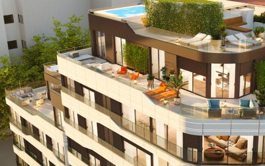Apartments in Luxury Building in Alicante