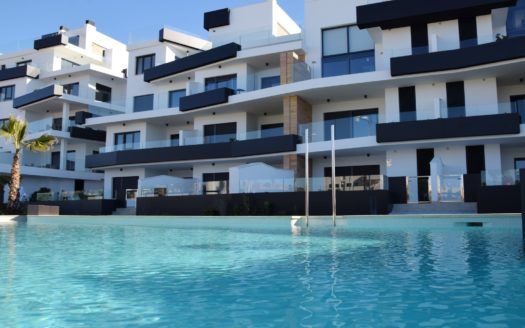 2 and 3 Bedroom Apartments in Los Dolses, Orihuela Costa