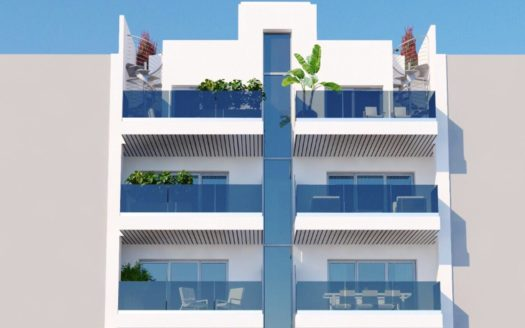 Apartments 200 meters from the Sea in Torrevieja