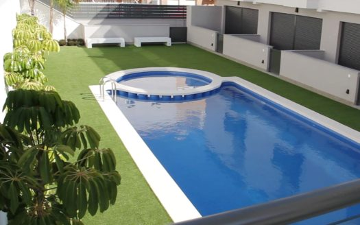 Duplex and Triplex in Santa Pola