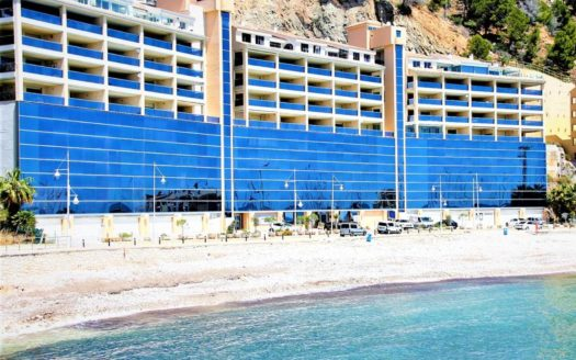 Beachfront apartments in Altea