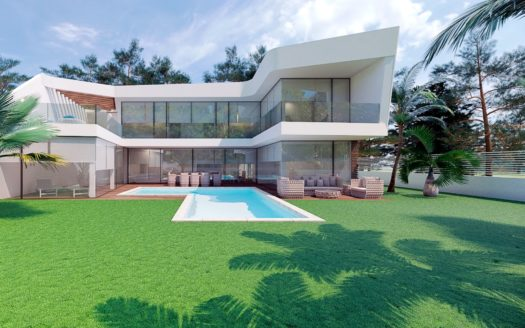 Modern Villas Located in Altea