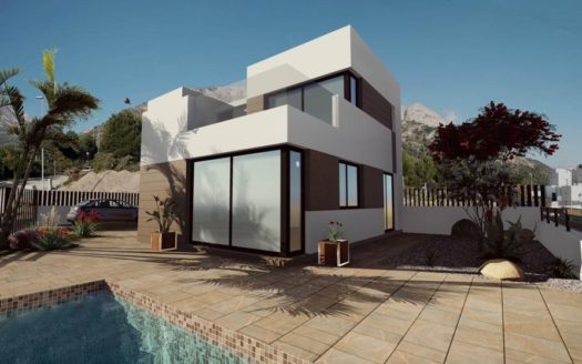 New Villas in the Beautiful Area of Polop