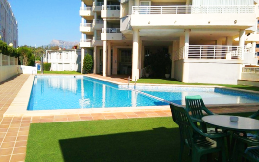 First Line Apartment in Calpe