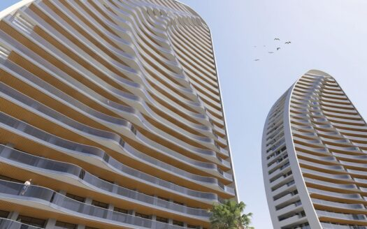 New apartments in urbanization in Benidorm