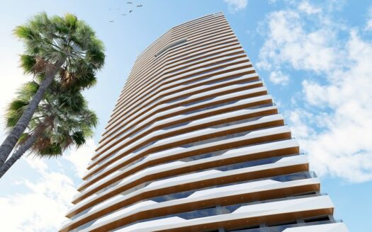 New 3-bedroom apartments in Benidorm
