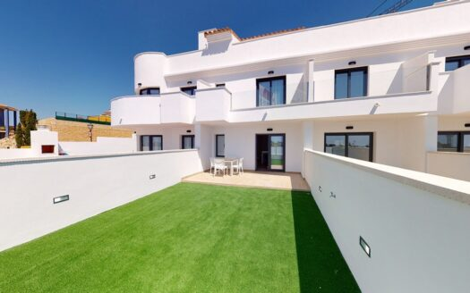 Modern bungalow in the residential complex in Finestrat (Benidorm)