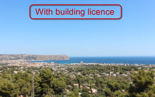 Plot With Sea View for Sale in Jávea