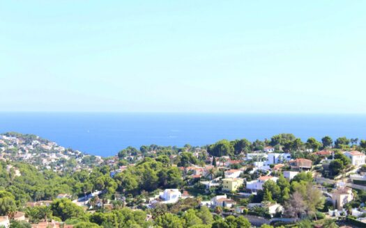 Great Value Apartment With Panoramic Sea Views in Benissa