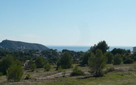 Multiple Building Plots with Sea Views for Sale in Moraira