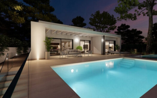New Build Villa for Sale in Pedreguer