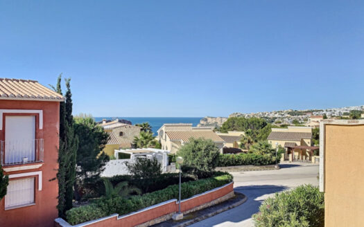 Apartment With Sea Views in Benitachell