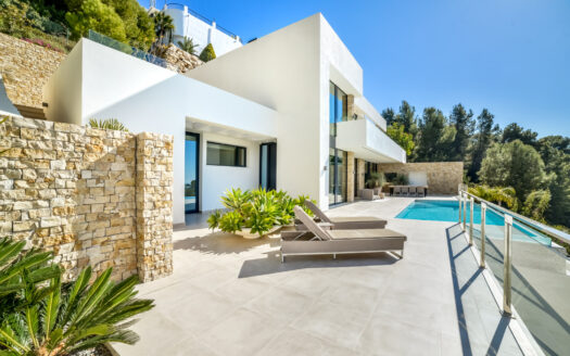 New Modern Villa With Panoramic Views in Altea Hills