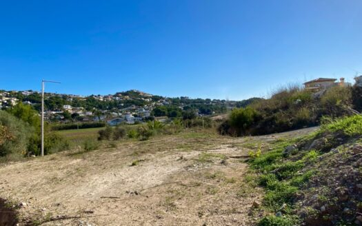 Building Plot With Valley Views in Moraira