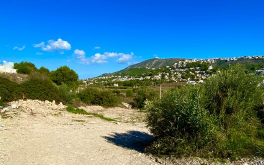 Building Plot With Open Views in Moraira