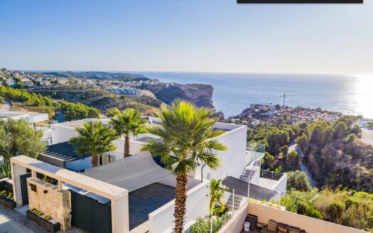 Villa With Spectacular Sea and Mountain Views in Benitachell