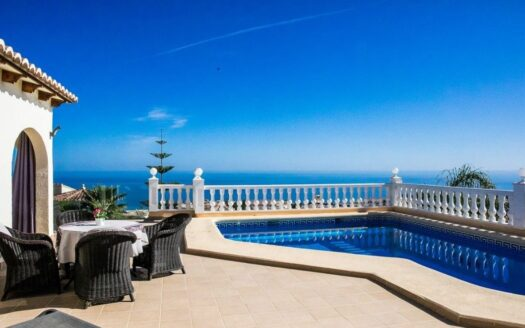 Nice Villa With Sea and Mountain Views in Benitachell