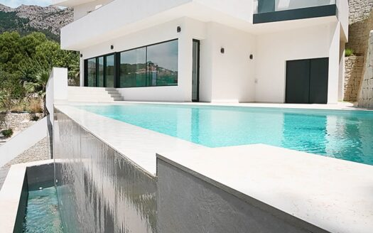 Luxury villa located in Altea Hills