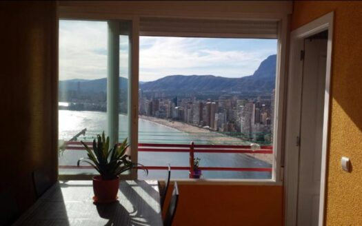 Apartments 50 meters from the beach with sea views