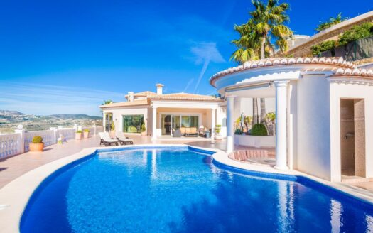 Amazing 4 Bed Luxury Villa – Fantastic 180º Sea and Country Views