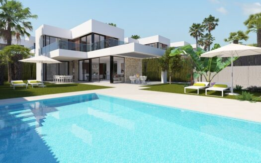 New Build Villa With Sea Views in Benidorm