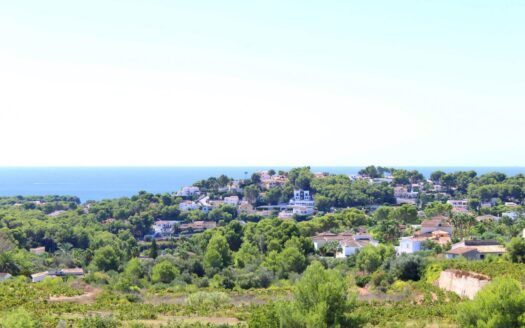 Sea View Plots in an Exclusive Part of Moraira