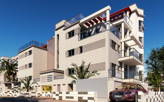 Penthouse with solarium 70 meters from the beach of San Fernando, Oliva