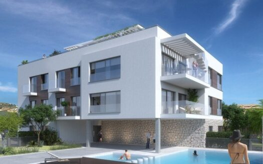 Brand New 3 Bed Apartment Walking Distance to the Port in Javea