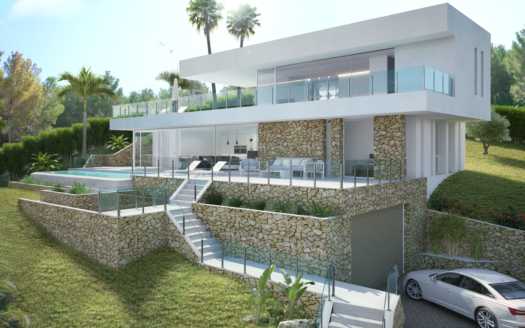 Beautiful new villa situated within one of Javea's premier addresses