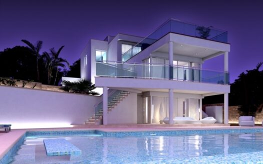 Fantastic Front Line 4 Bed Luxury Villa Moraira