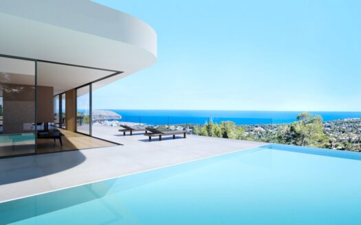 Luxury Modern Villa With Sea Views in Moraira