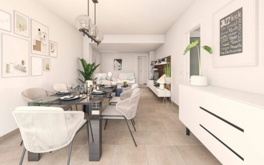 New Build Apartment in the Centre of Moraira